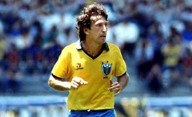Zico é o décimo artilheiro da história do futebol