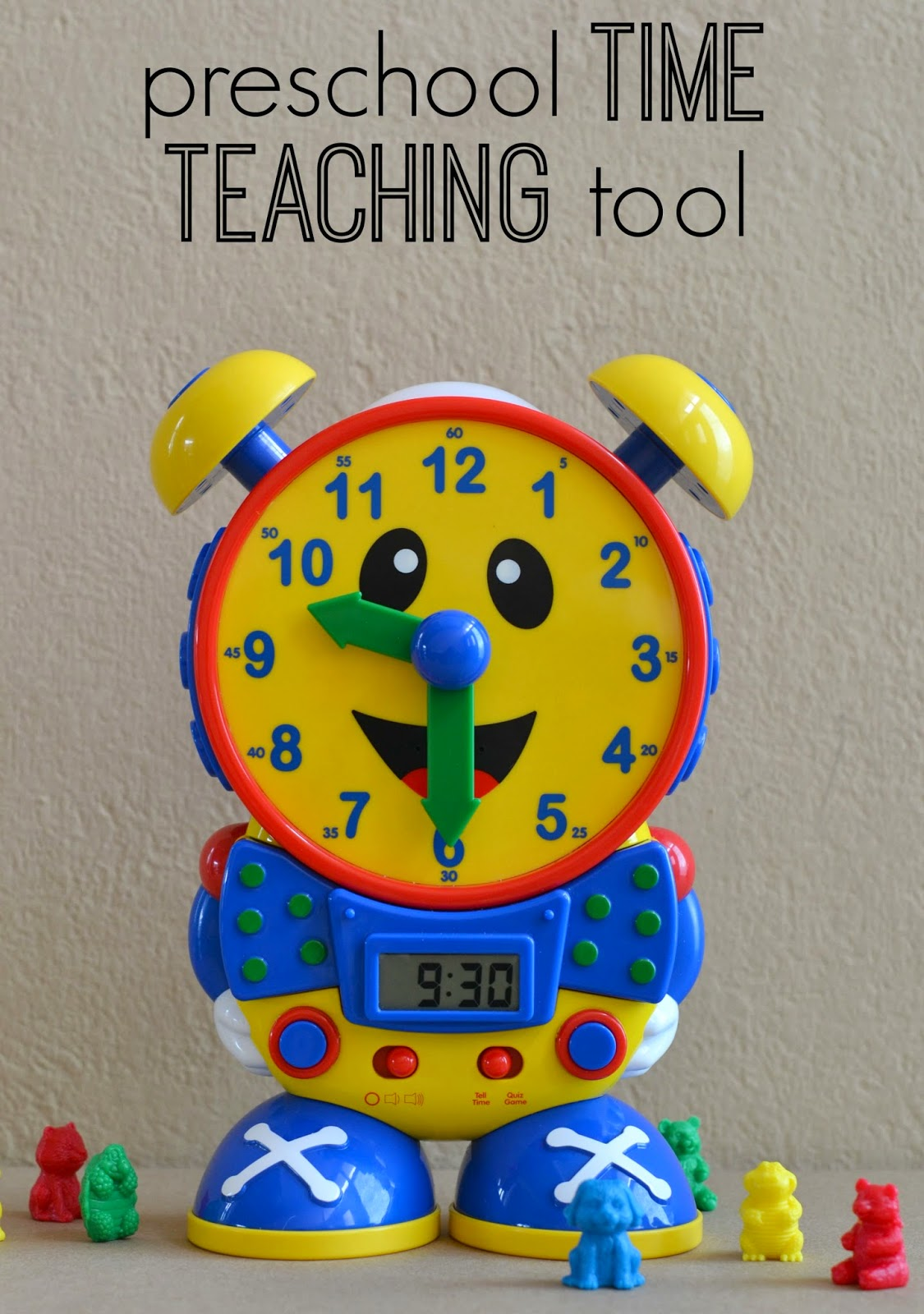 Mommy Testers, Best time teaching toy for kids, preschool time teaching tool, Telly the time teaching clock, telly time clock review,