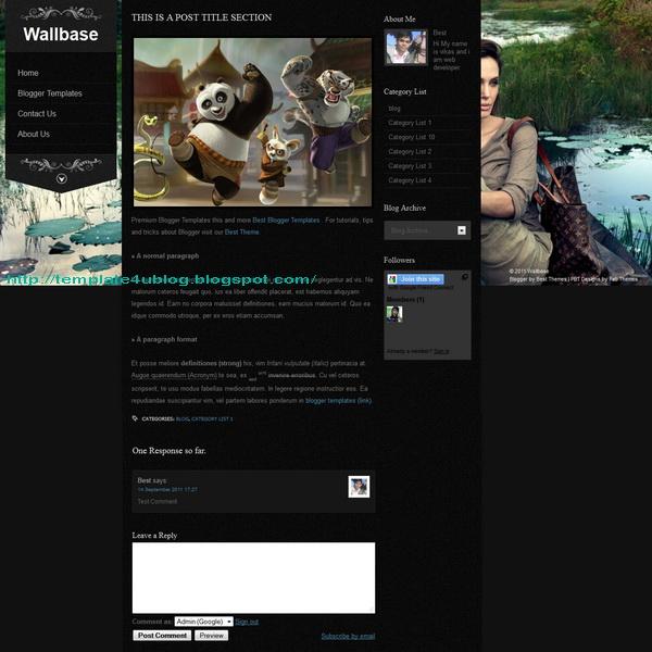 Wallbase Postpage