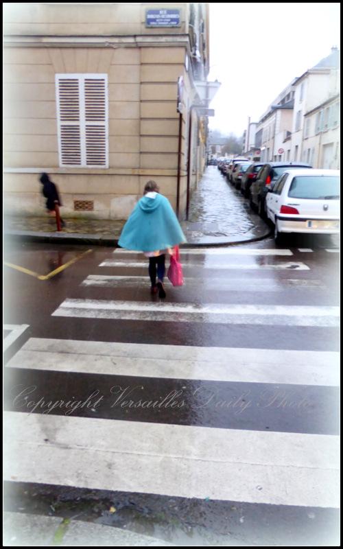 Sleet Versailles street scene