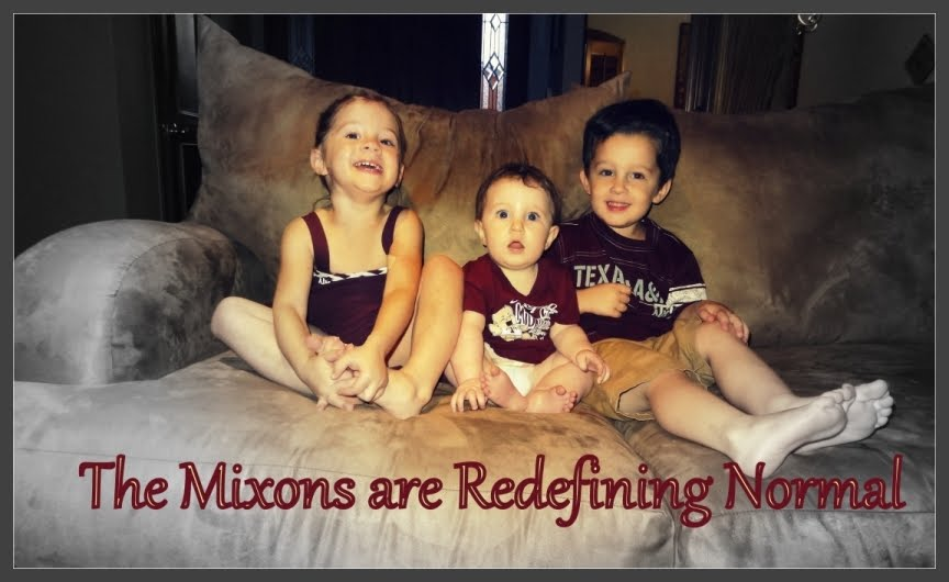 The Mixon's are Redefining Normal