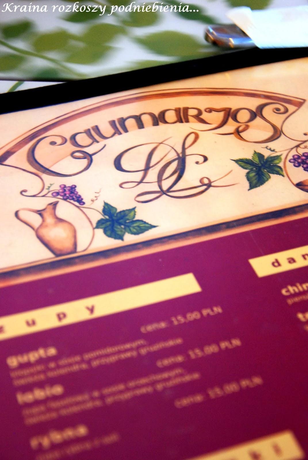O Gruzinskiej Restauracji Gaumarjos Slow Kilka Kraina Rozkoszy
