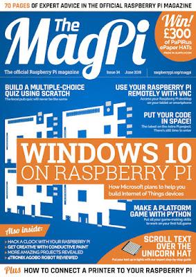 MagPi 34ª edição