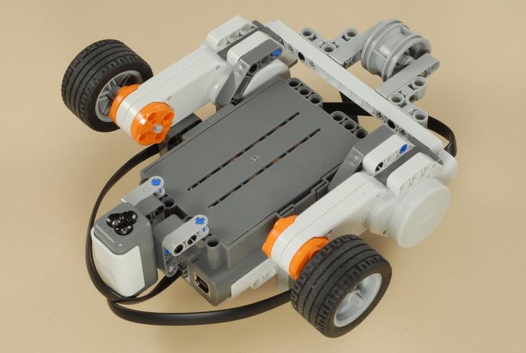 Как сделать движущегося робота 587