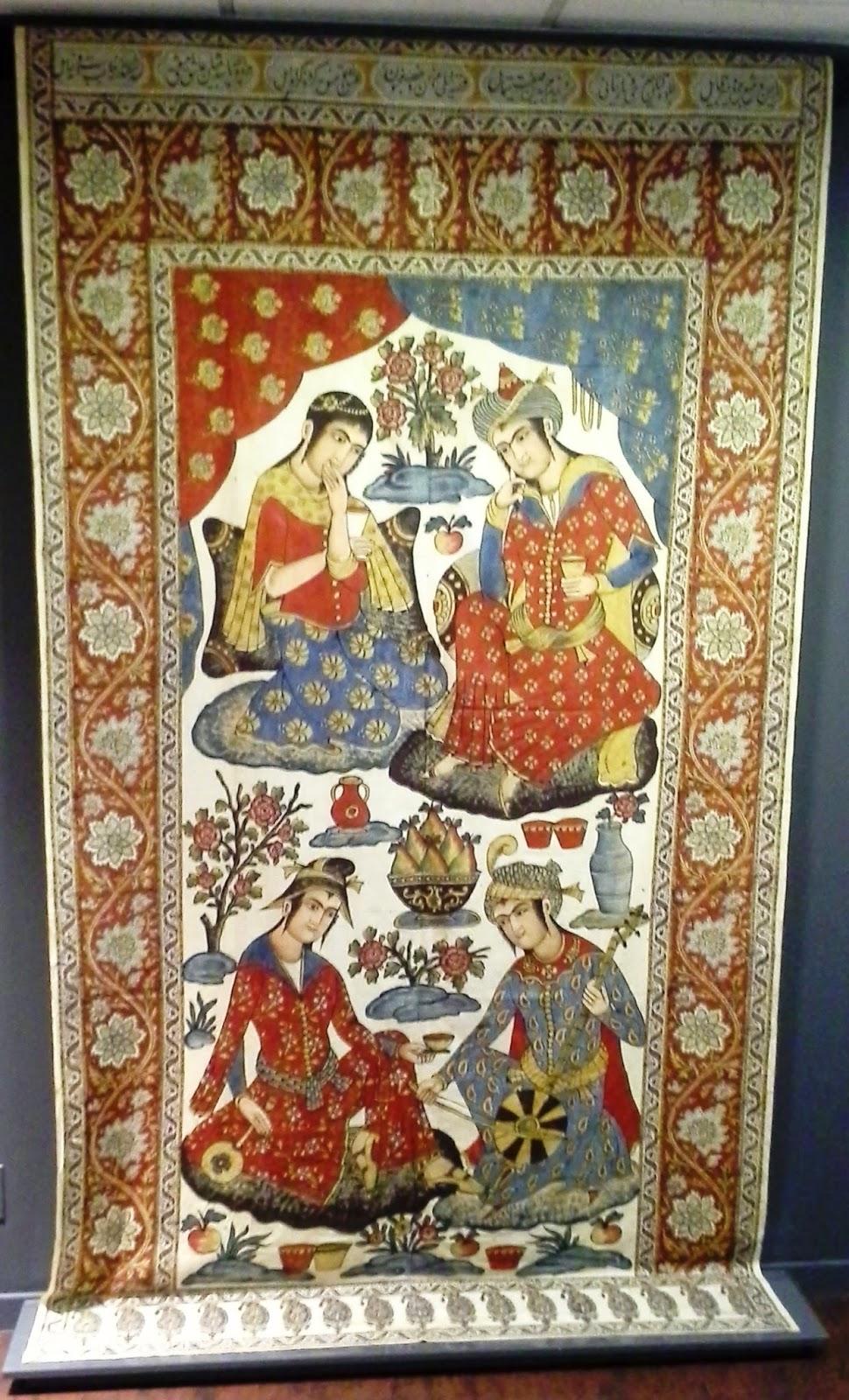 Textile Museum of Canada: Telling Stories Exhibit, Toronto Melanie.Ps The Purple Scarf Culture blogger art matters