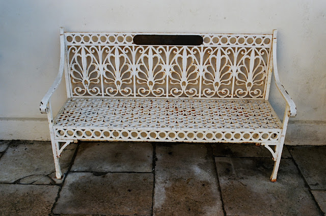 London bench Kenwood House English Heritage