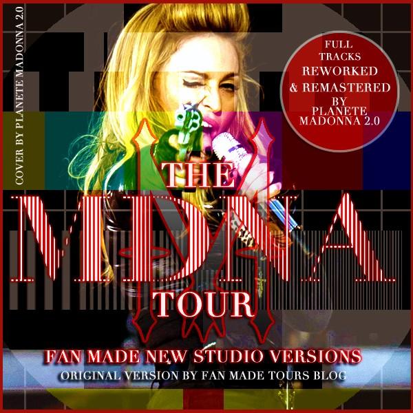 Mdna Tour Studio Versions
