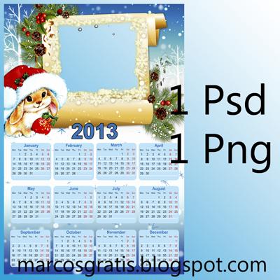 calendario navidad 2013