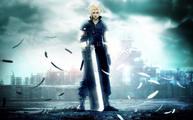 cloud strife crisis core final fantasy ff midgar buster sword