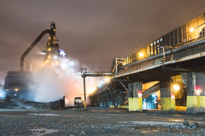 Steelyard, Train, Cleveland