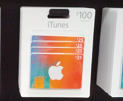 iTunes $100 Multi Pack only for $95