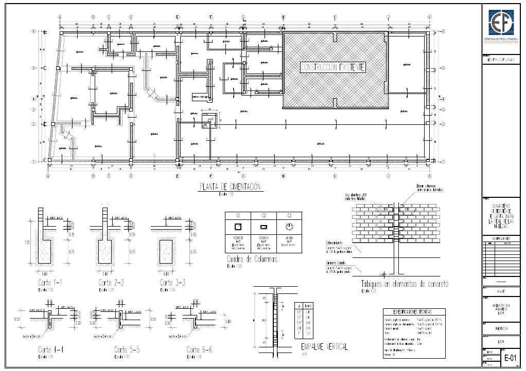planos arquitectonicos sena estructurales