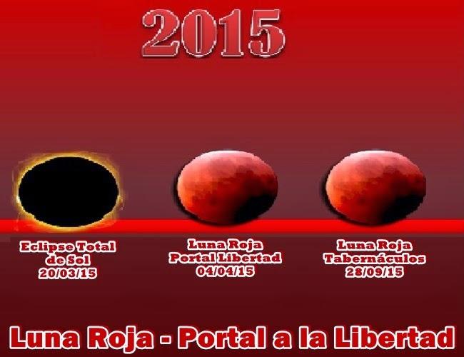 Como muchos de Uds. saben, otro magnífico Portal a la Libertad está a punto de abrirse para todos, el 04 de abril próximo con la Luna de Sangre.