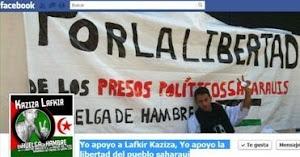 Yo apoyo a Lafkir Kaziza, Yo apoyo la libertad del pueblo saharaui
