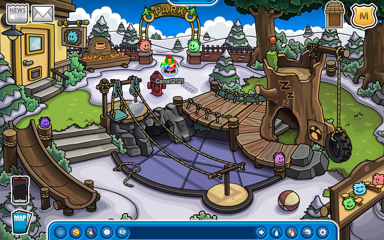 Club Penguin Puffle Park