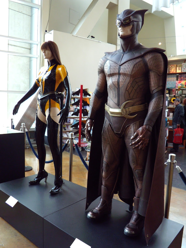 Original Watchmen movie costumes