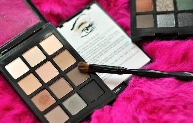 Sonia Kashuk Makeup, instructional eye shadows