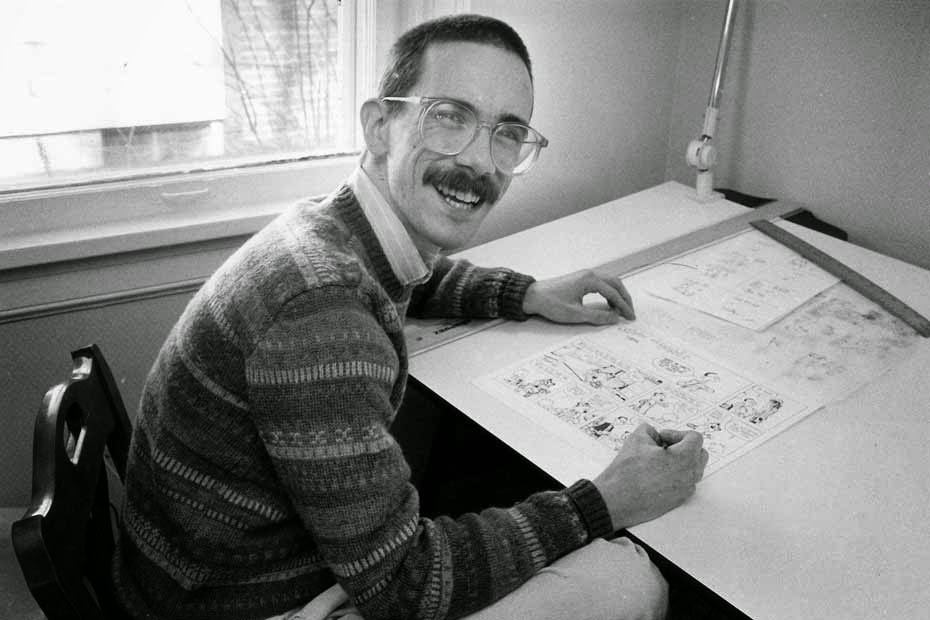 Bill Watterson, photo Europe 1