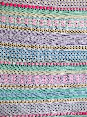 baby's, crochet,blanket,easy,fun,fantasy
