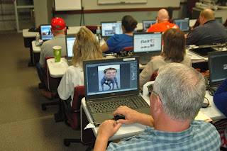 Teachers experiment with Photoshop to make -- and identify -- altered photos.