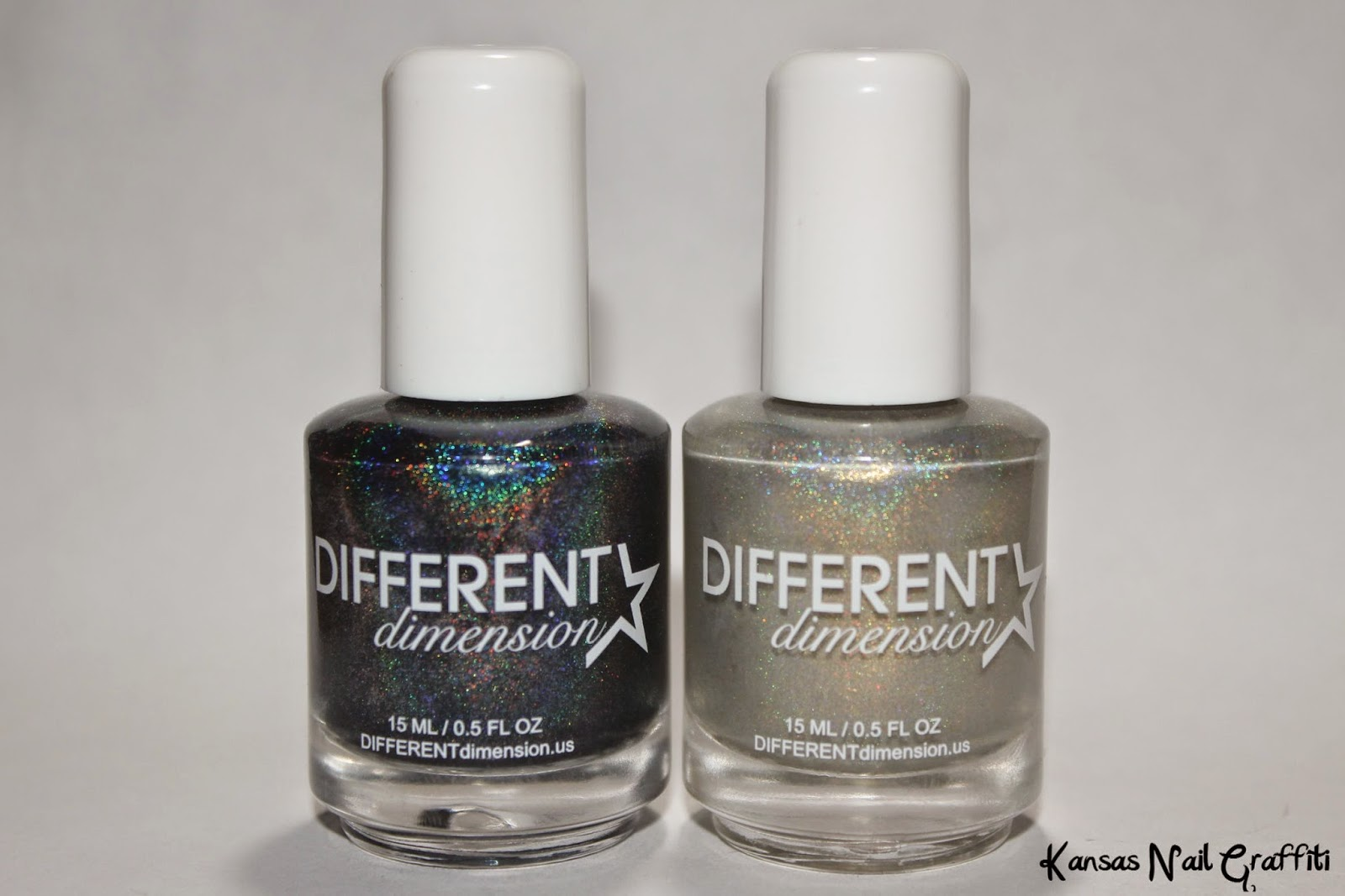 Kansas Nail Graffiti: Gloss48 & Different Dimension exclusive