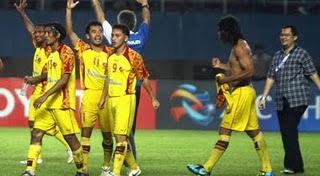 Tekuk Persiba Balikpapan, Sriwijaya FC Naik Peringkat
