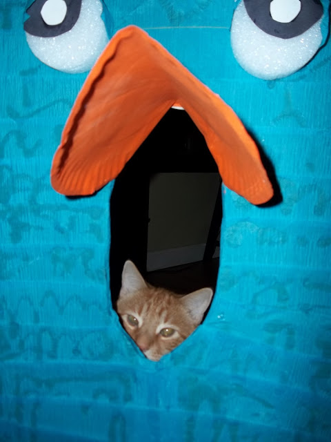 How to make a Perry the Platypus Costume