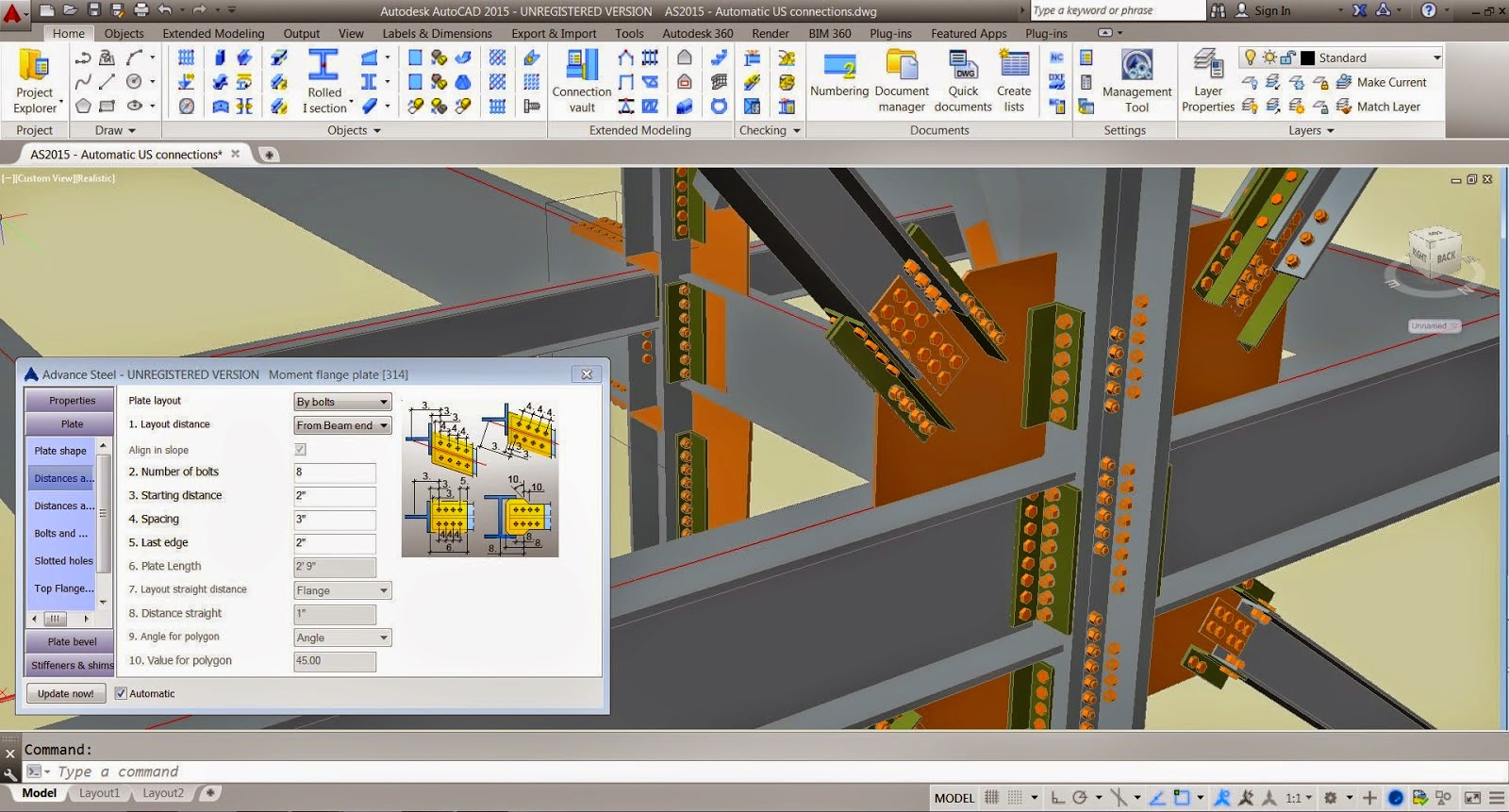 Autodesk Autocad 2016 screenshot by www.ifub.net