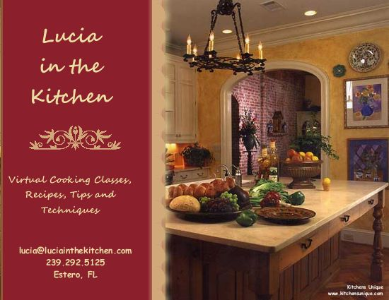 Lucia in the Kitchen
