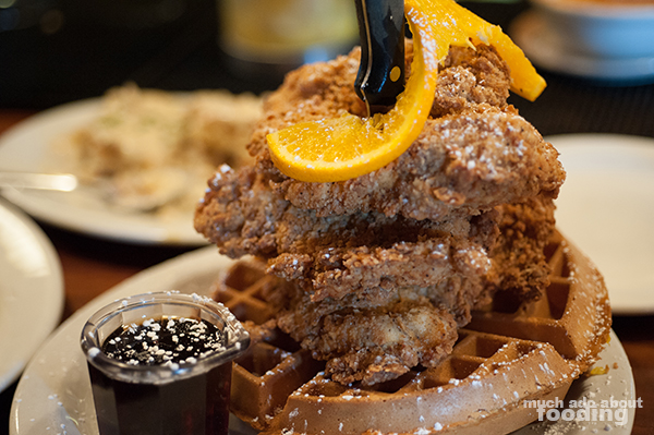 The True Dish, However, That I Would Get Over And Over Again Is Also Likely  The Most Popular There At Screen Door: Fried Chicken U0026 Waffle ($13.95 ...