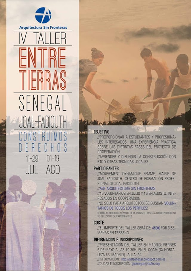 TALLER de VERANO en SENEGAL