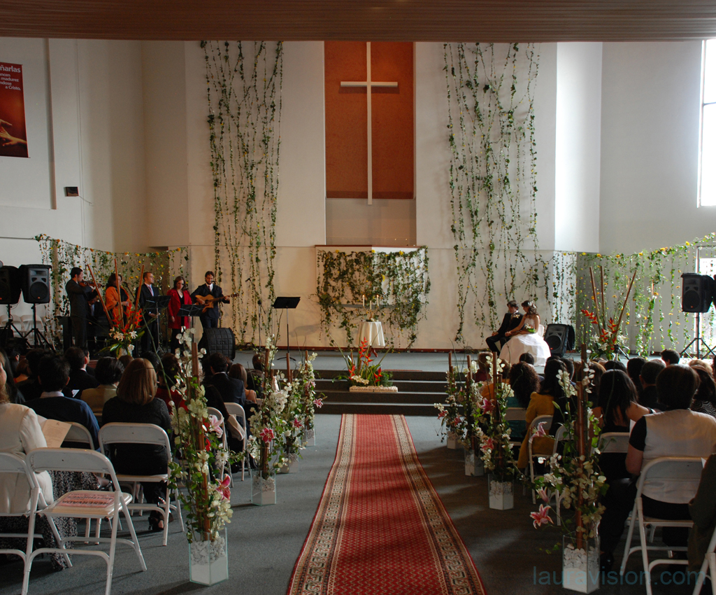 Decoracion Iglesia Cristiana ~ Las mejores fotos para tu matrimonio Iglesia Cristiana Confraternidad