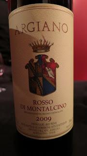 Label photo of 2009 Argiano Rosso di Montalcino