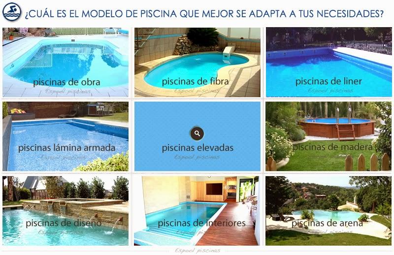piscinas de fibra, obra, liner o lámina armada, elevadas, de madera, de diseño, de interiores, de arena en Guadalajara - espoolpiscinas.com