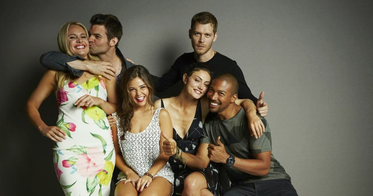 Cast Of The Originals Promote The Series At Comic Con