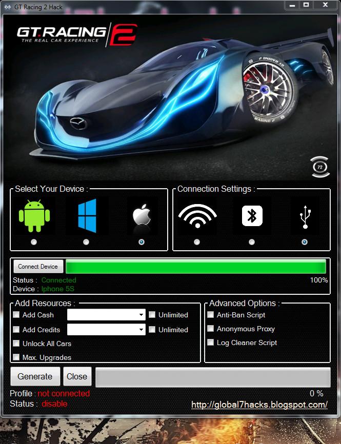 gt racing 2 cash hack windows
