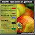Codurile PLU: Etichetele de pe fructele şi legumele de la hipermarket