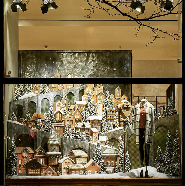 Martha Moments Anthropologie S Holiday Windows