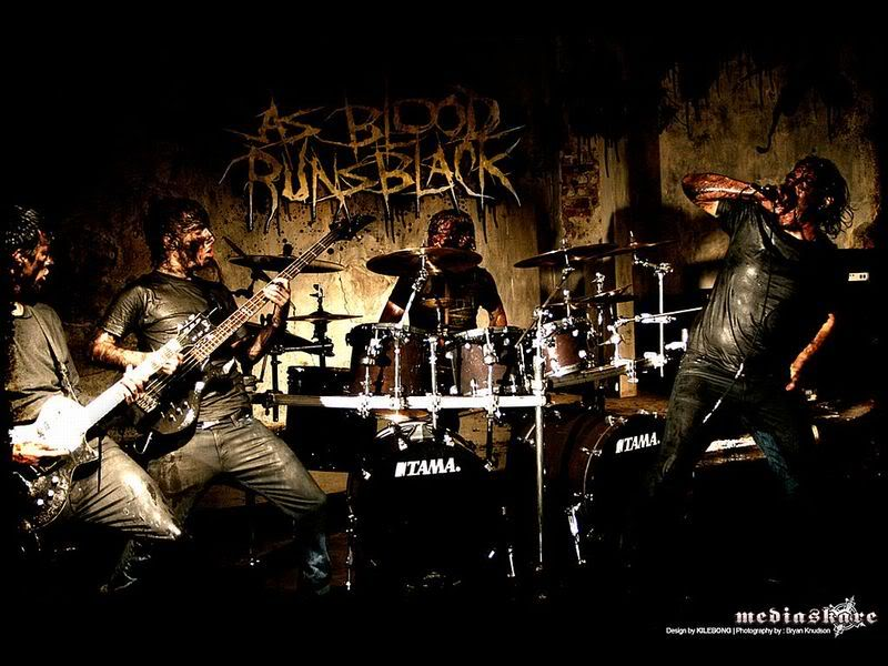 Deathcore Font As Blood Runs Black ~ ...