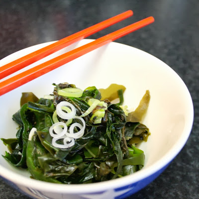 Seaweed is such a superfood - this is how to make a simple salad using wakame, laver and kelp