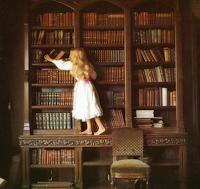 """""""Uma biblioteca não é feita de livros, mas de leitores""""."""