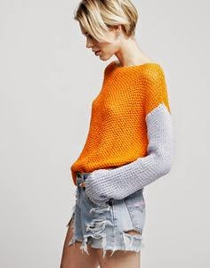Spring/Summer great looking sweater.