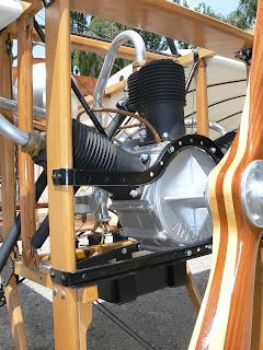 Motor Anzani del Bleriot XI.