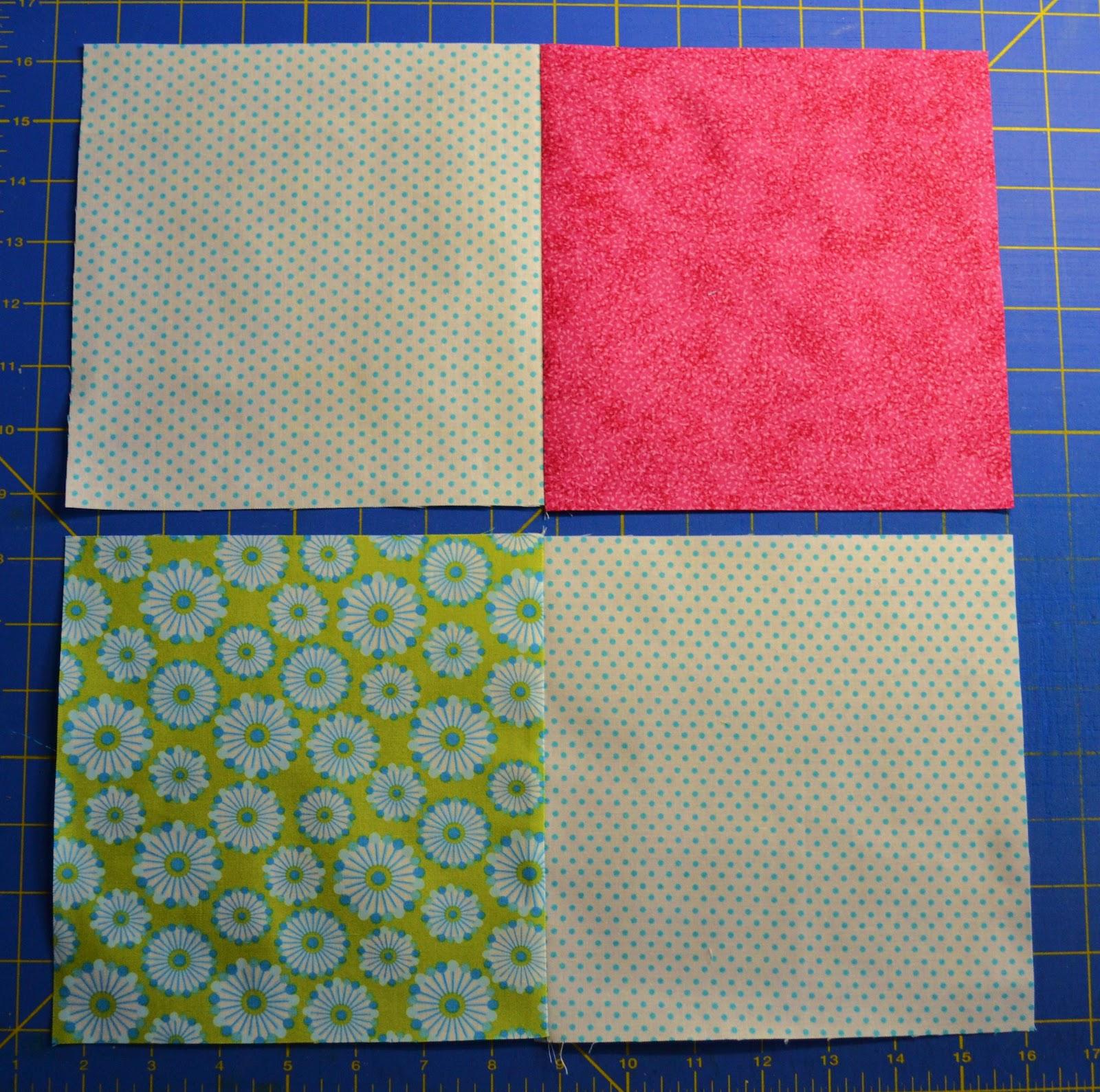 Chock-A-Block Quilt Blocks: Disappearing 4-Patch : 4 quilt block patterns - Adamdwight.com