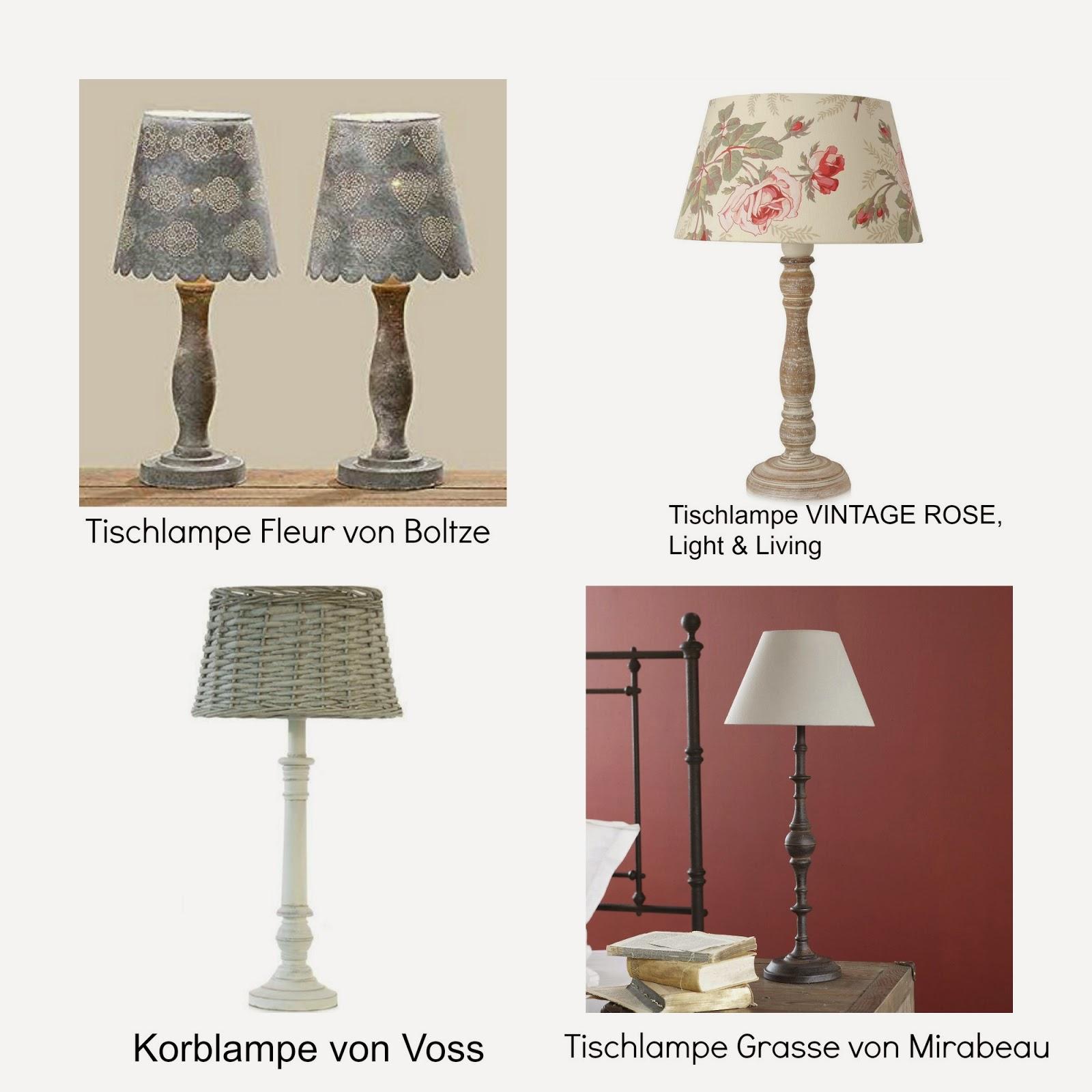 landhausstil nachttischlampen - schöne leuchtmittel für das, Schlafzimmer entwurf