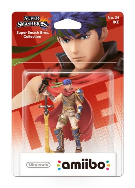 JUGUETES - NINTENDO Amiibo - 24 : Figura Ike : Fire Emblem  (23 enero 2015) | Videojuegos | Muñeco | Super Smash Bros Collection  Plataforma: Wii U & Nintendo 3DS