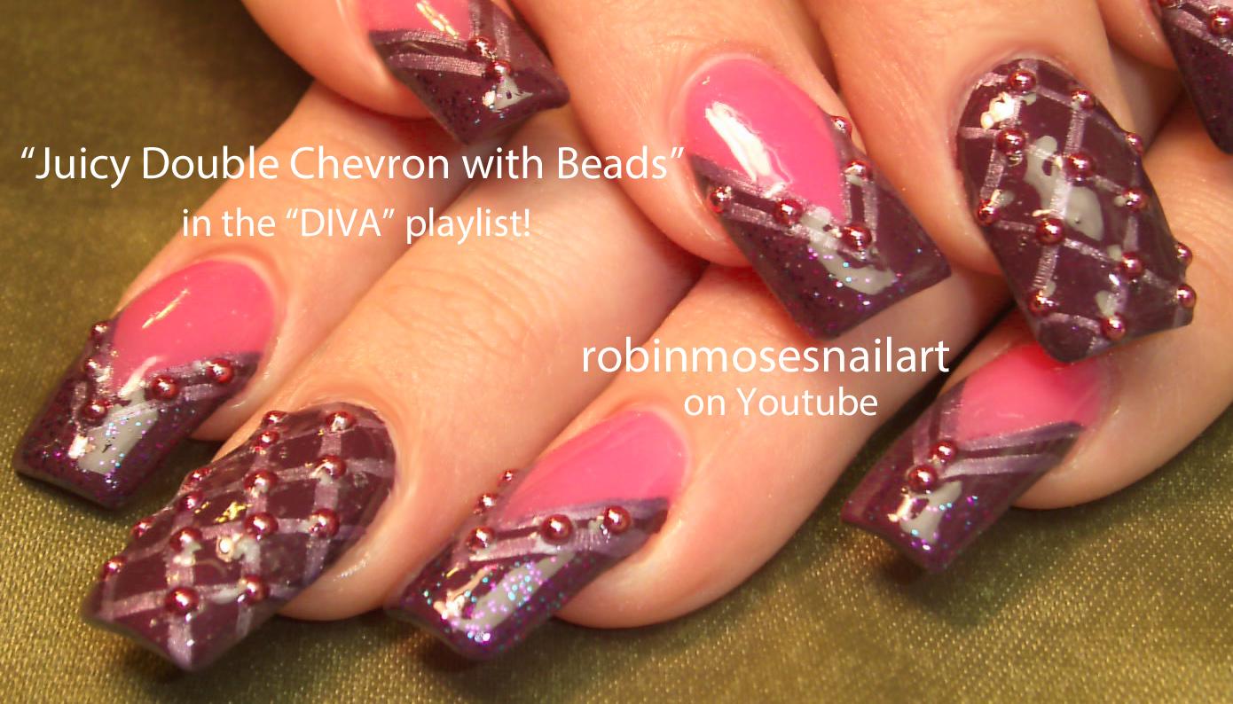 Nail Art Design: snowman nail art, snow man nails, pink and purple ...