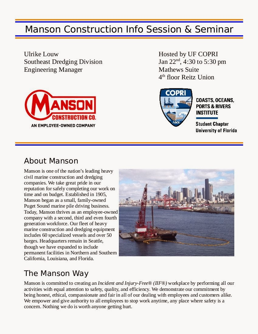 Manson Construction Info Session