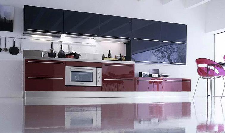 Cocinas lineales: Para gustos exigentes - Cocinas con estilo