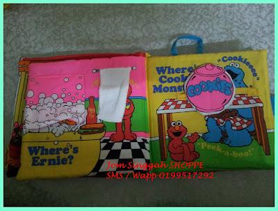 Softbook Elmo - Muka surat 3 & 4